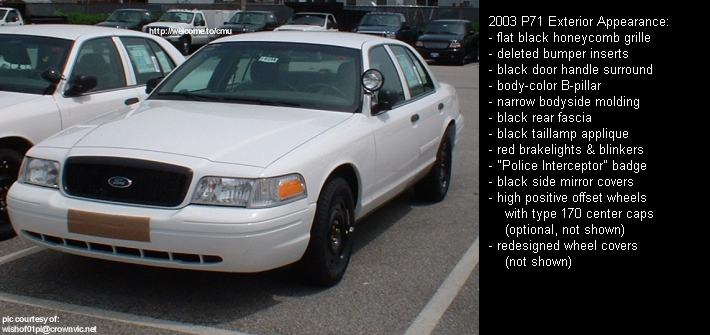 Pontiac Performance - Crown Victoria Year-to-Year Model Changes