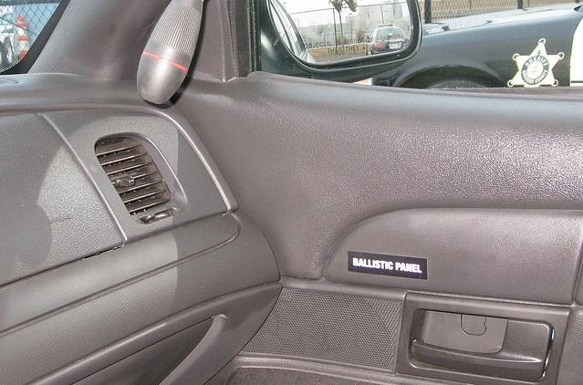 Ballistic Bullet Proof Door Panels For The Crown Victoria P71